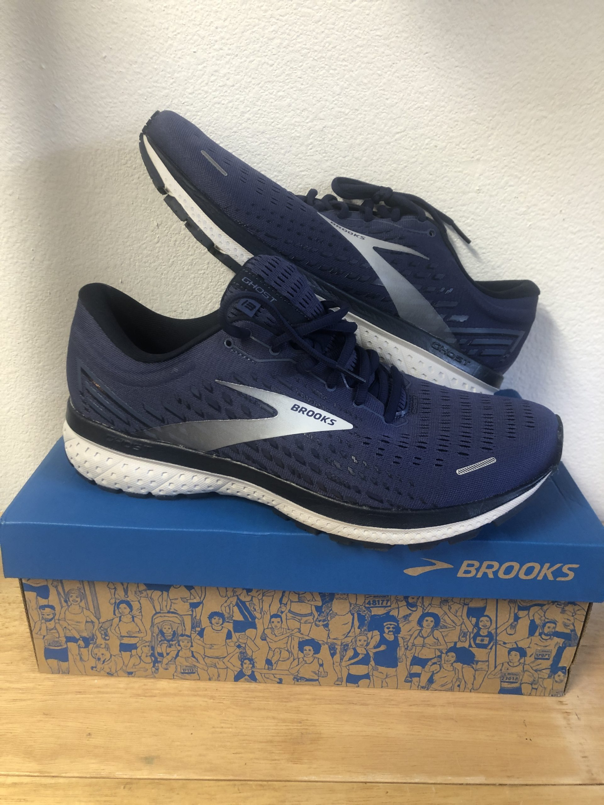 Brooks ghost 13 unboxing